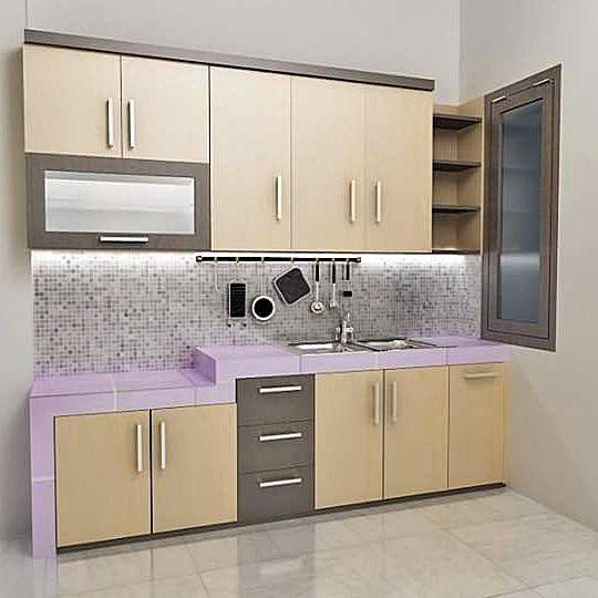 Contoh Kitchen Set Sederhana Dapur Minimalis Idaman