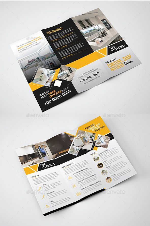 17 Best Ideas About Tri Fold Brochure On Pinterest Tri