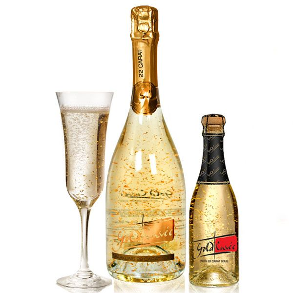 Sparkling Gold Cuvee Valentines Cas And Drinks