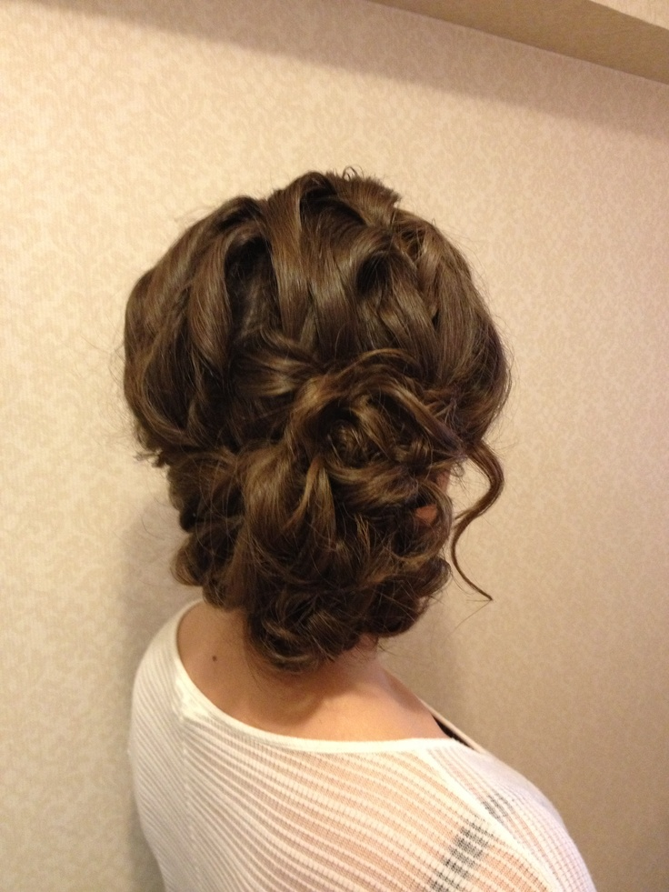 Loose Side Updo Wwwtheupdogurucom Hair Pinterest