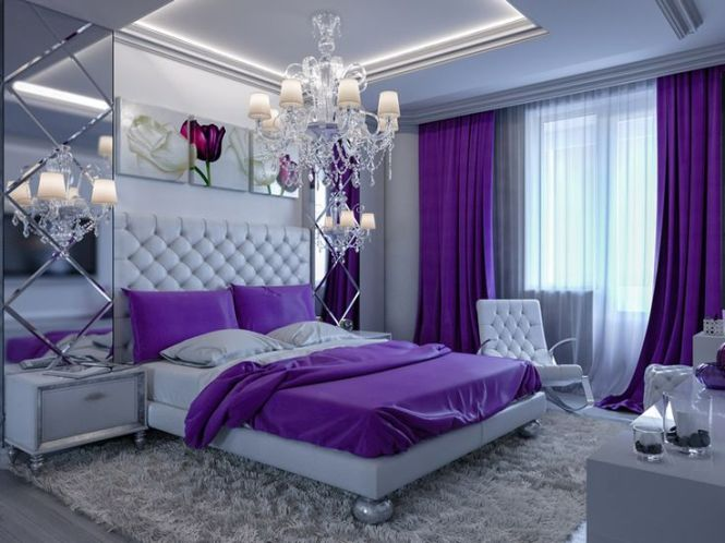 The 25 Best Ideas About Purple Bedrooms On Pinterest Bedroom Decor Master And Glam