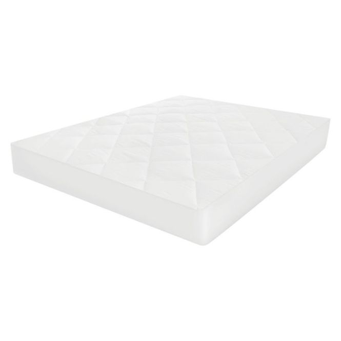 Microshield Mattress Pad Twin Extra Long White Sensorpedic
