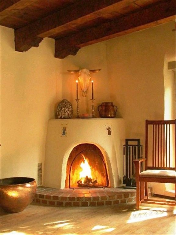25 Best Ideas About Adobe Fireplace On Pinterest Southwestern Fireplaces Santa Fe Home And