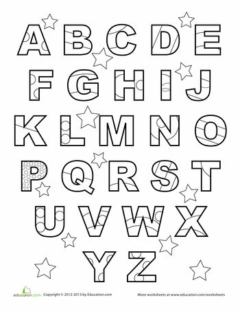 Coloring Pages Alphabets Printables. o. 1000 ideas about abc ...