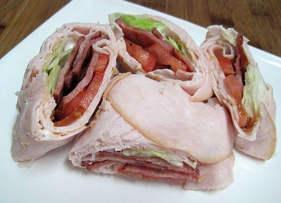 No Carb BLT and Turkey Wraps!