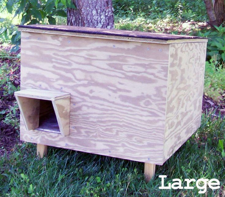 outdoor cat houses Insulated Outdoor Cat Shelter