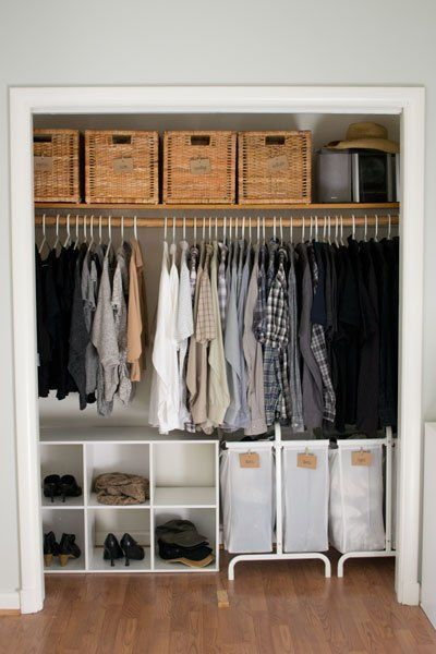 How We Organized Our Small Bedroom Home Organizationorganizing Ideaswomens Closet