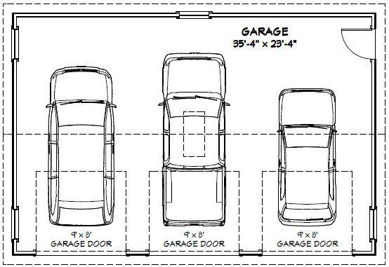 Garage Dimensions Google Search Andrew Garage