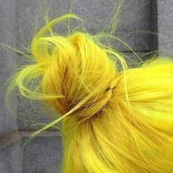 17 best images about sunburst yellow on pinterest yellow hair dye neon and neon hair