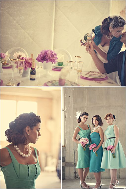 Just made me realize how much I would absolutely love a vintage wedding. =]