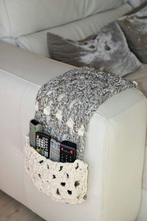 Remote Control Couch Cozy Crochet Home Goods Pinterest Couch Inspiration And Remote Holder