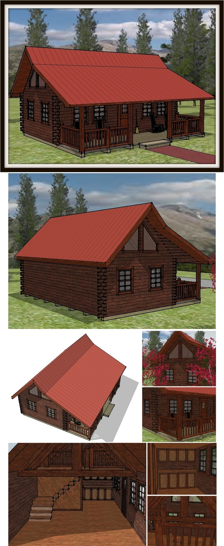 Top 25 Ideas About Log Cabins On Pinterest Kid Playhouse Built In Bunks And Hunters