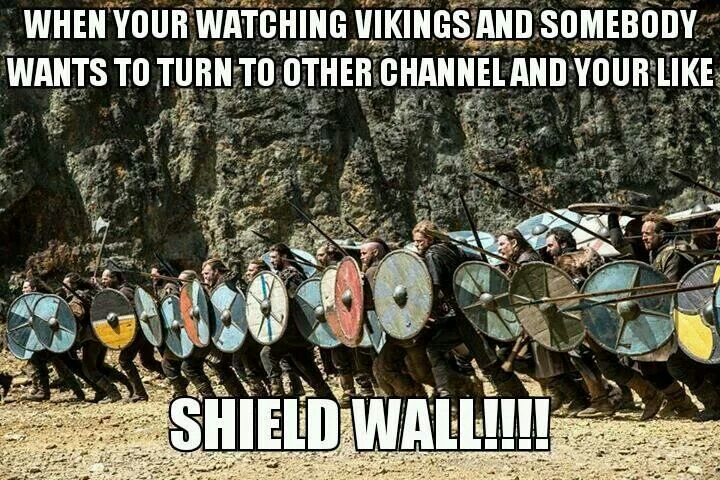 Vikings History Shield Wall Norse Pinterest Vikings