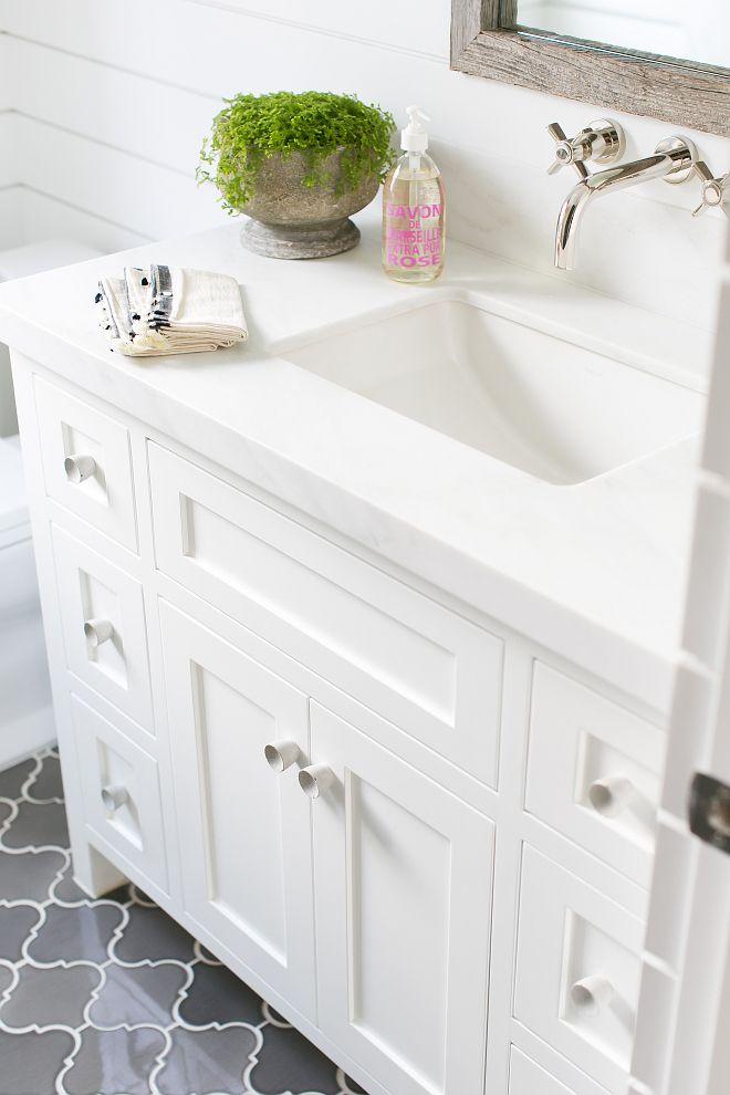 25 Best White Bathroom Cabinets Ideas On Pinterest