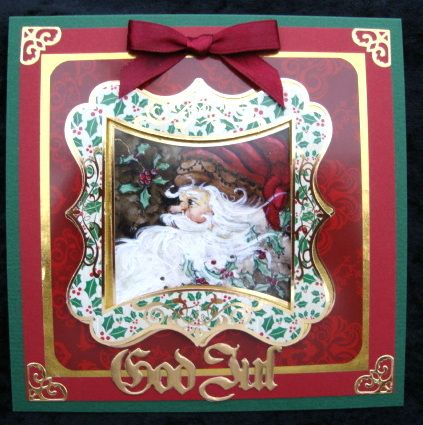 Christmas Cards 3D Motive By Peggy Abrams My Winter