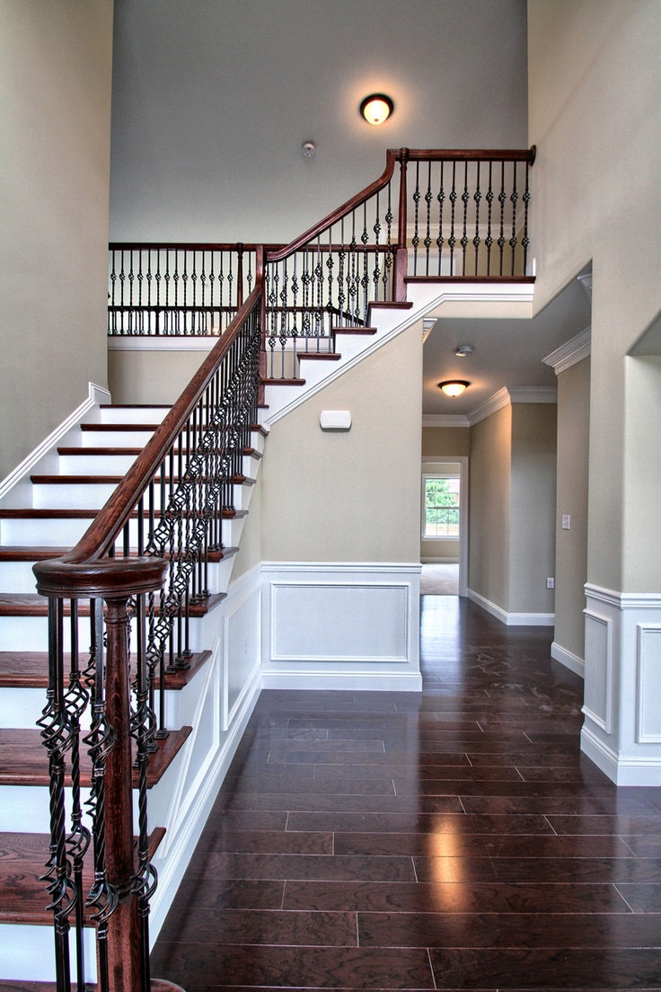 Foyers Entryways Classic Communities Open Foyer And Iron