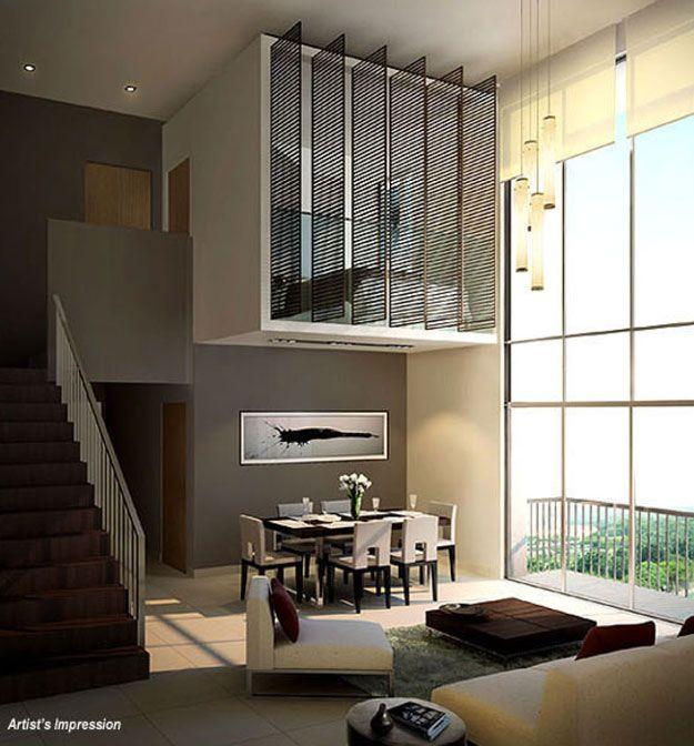 Split Level Loft Small Home Interior Small Homes Pinterest Small Homes Home Interiors And