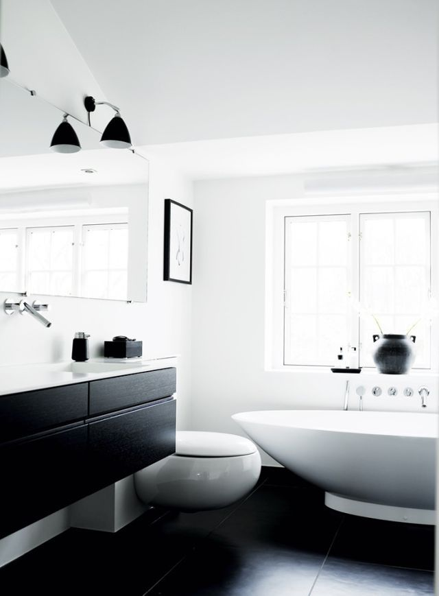 Only Best 25 Ideas About White Minimalist Bathrooms On