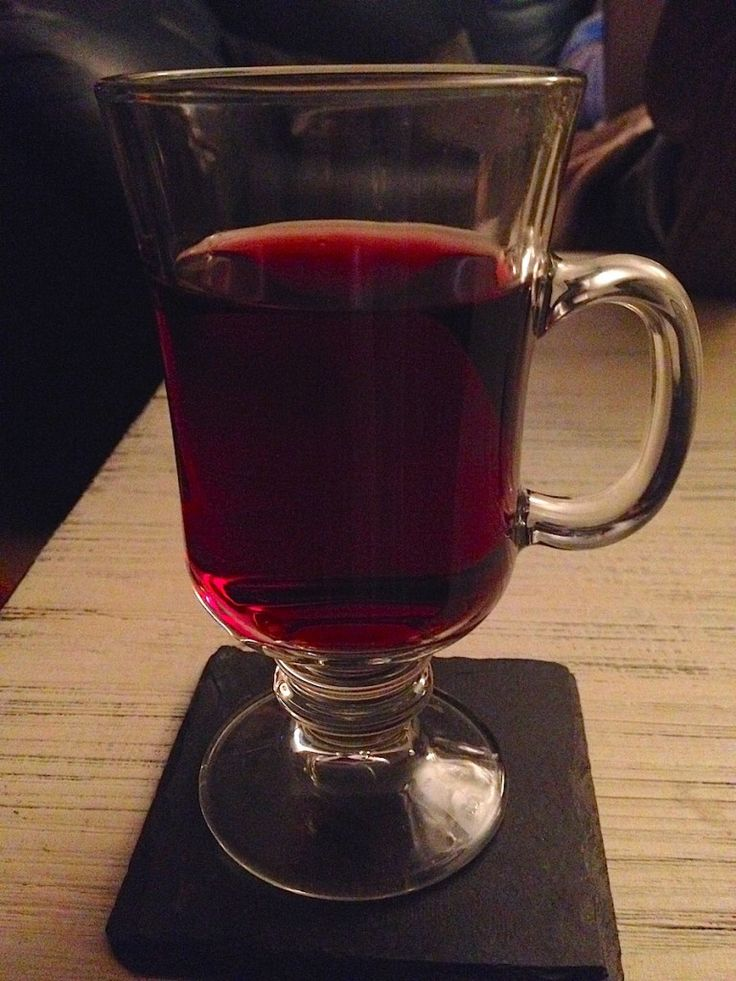 Mulled wine, or Gluhwein recipe a German traditional