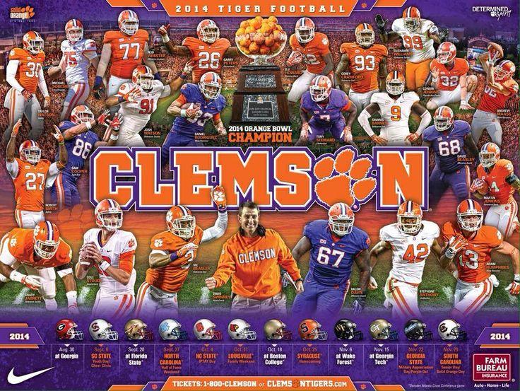20142015 Clemson Football Schedule