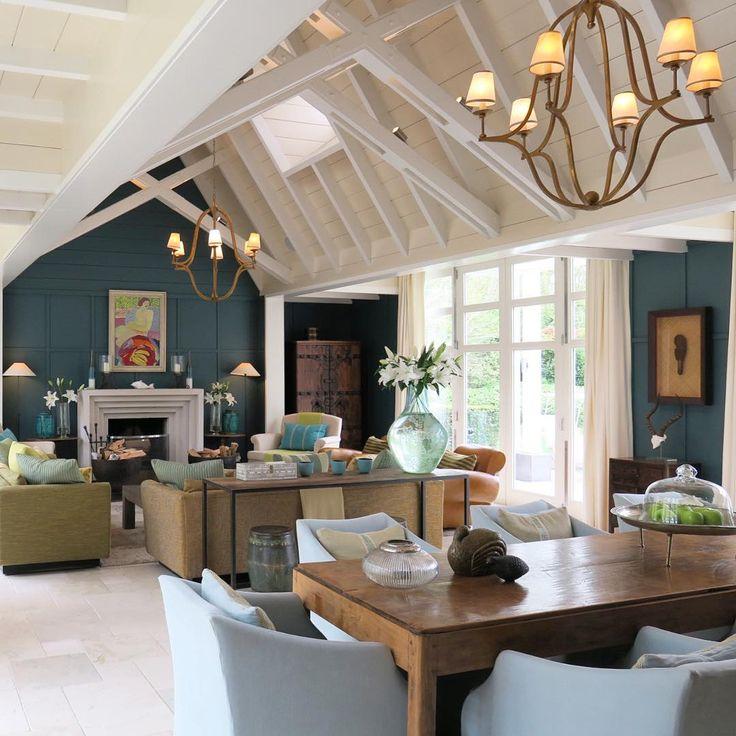 The Interior Of The Alan Pye Cottage At Huka Lodge New
