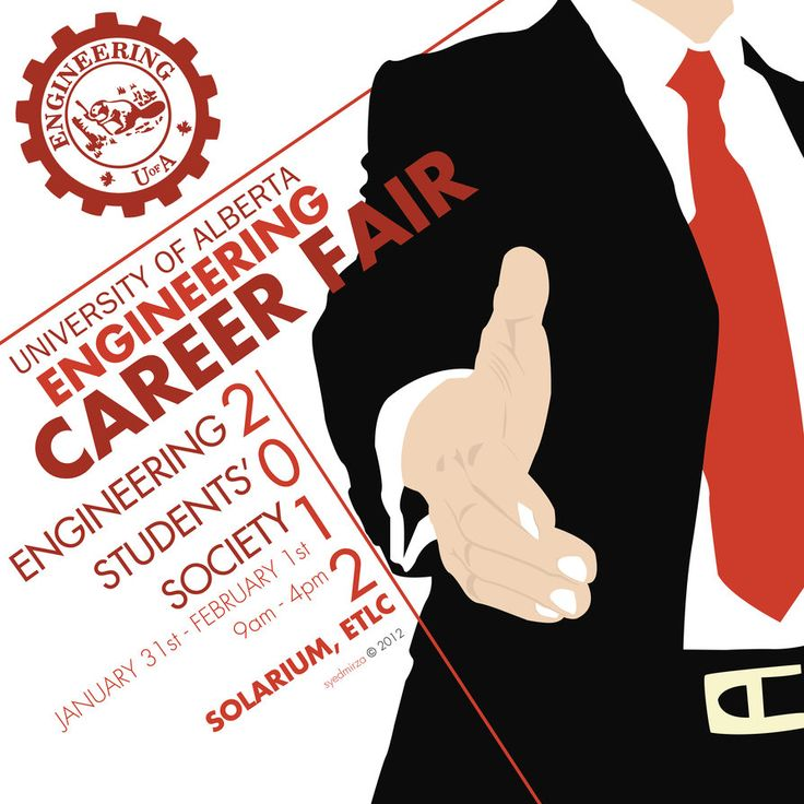 Career Fair Poster By Ikaash Graphic Design Pinterest