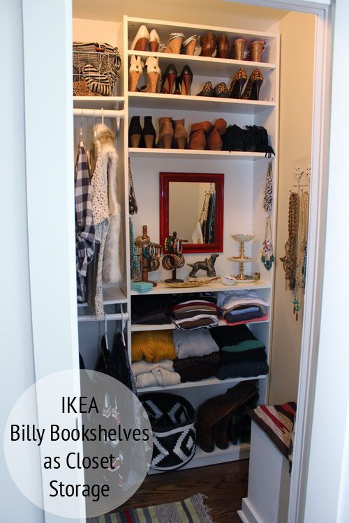 His And Hers Closets Ikea Billy Home And Ikea Billy