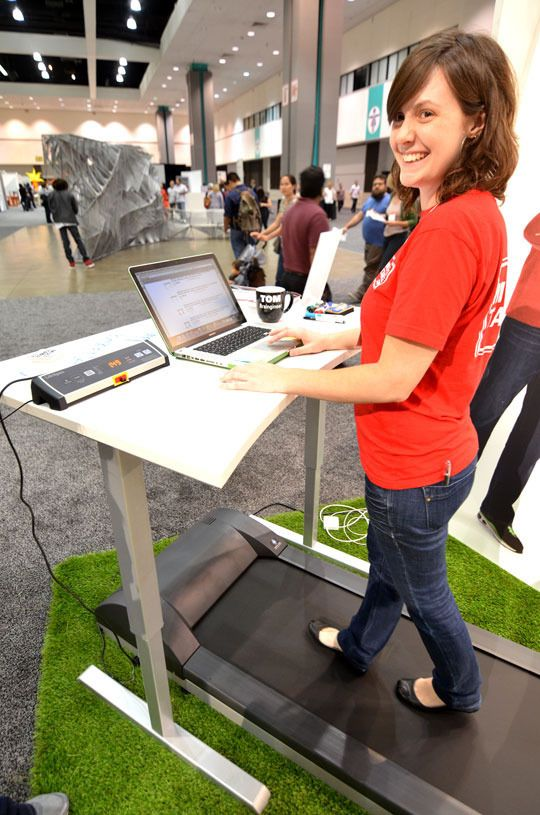MultiTable ModTable Standing Desk Treadmill System Pinterest Therapy The Office And The O