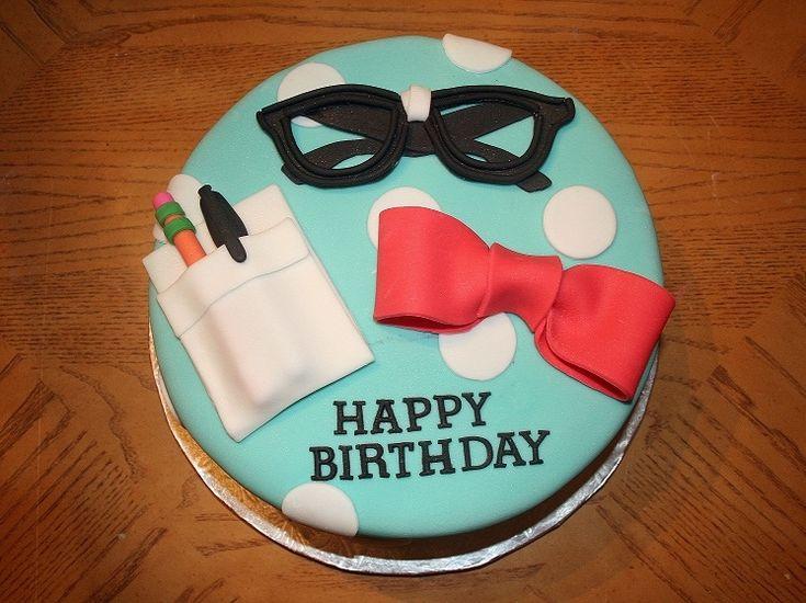 Nerd Party Cake For This Nerd Themed Birthday Cake I