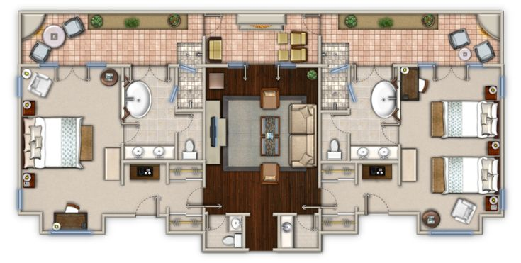 1000+ Images About Hotel Room Plan On Pinterest