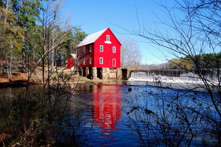 Stars Mill in Senoia GA aka the home of Deep South Glass