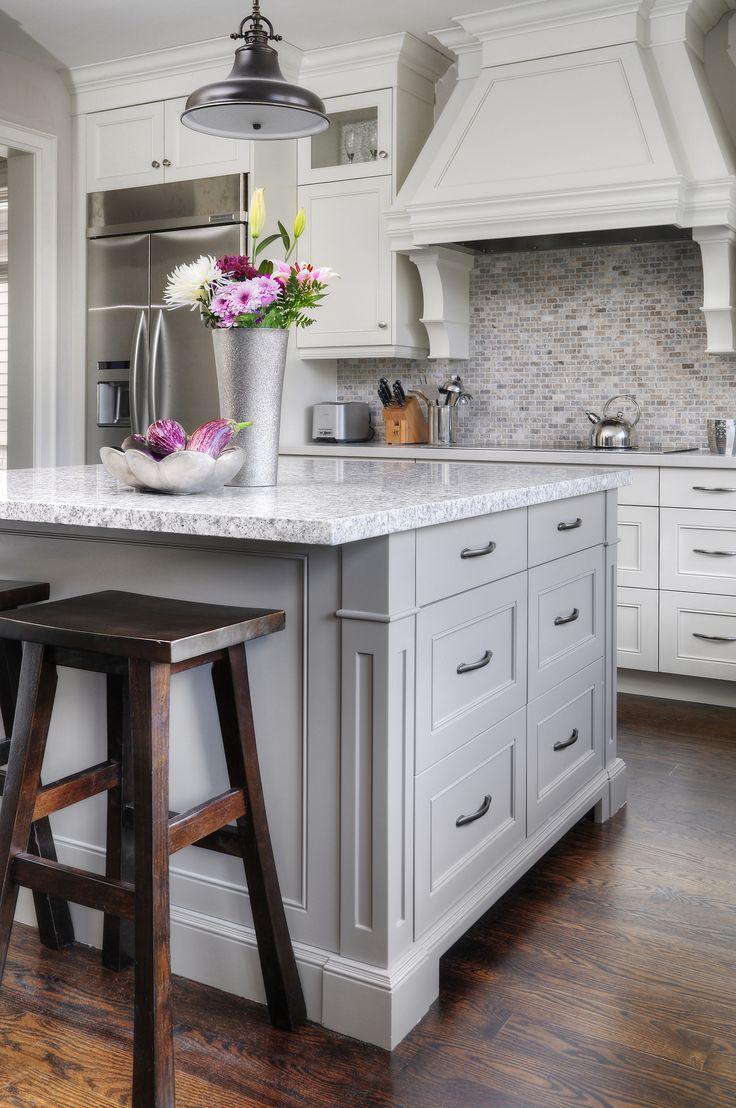Casual Oakville Kitchen Custom Kitchens Pinterest