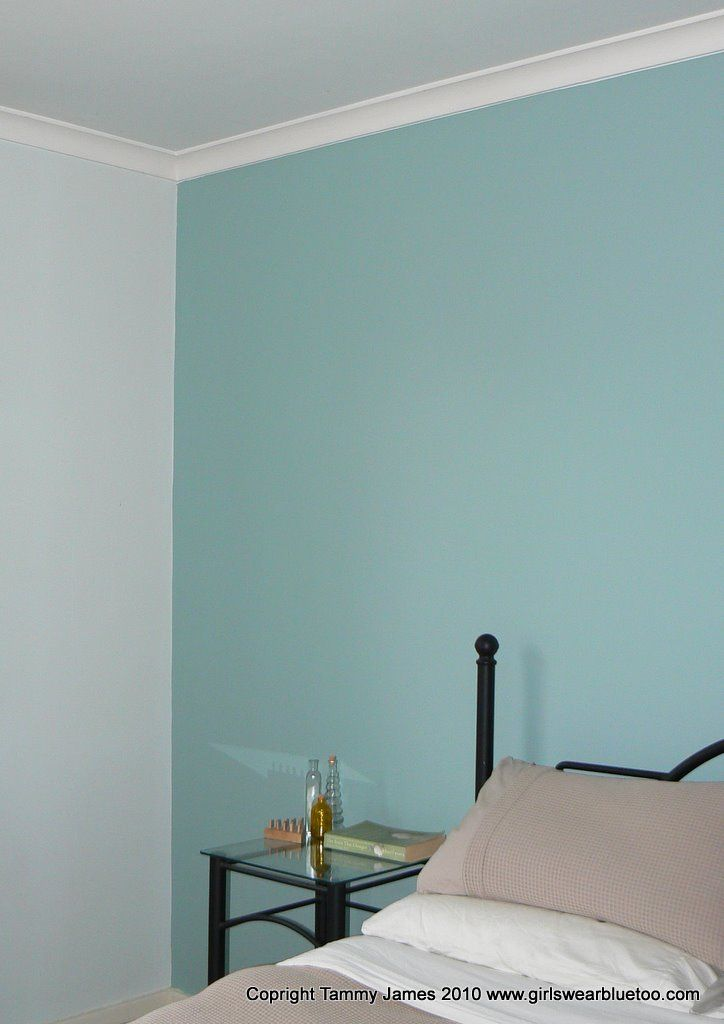 After Dulux Duck Egg Blue Bedroom Pinterest Duck