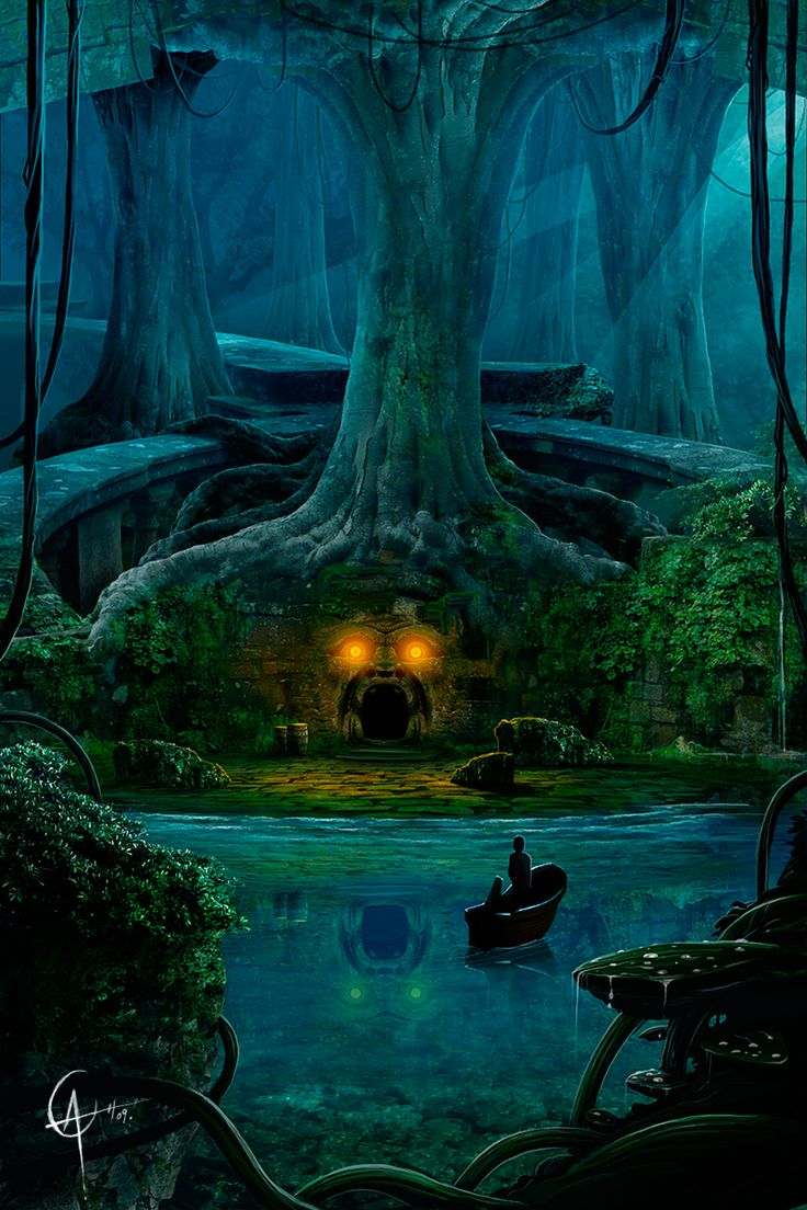 The Art Of Animation Alex Casteels Fantasy Forest Art