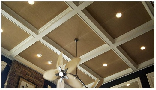 26 Best Images About Tres Ceiling Dining Room On Pinterest Gold Wallpaper Ceiling Trim And