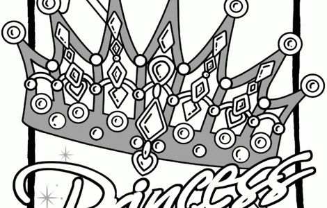 princess crowns coloring pages and coloring on pinterest