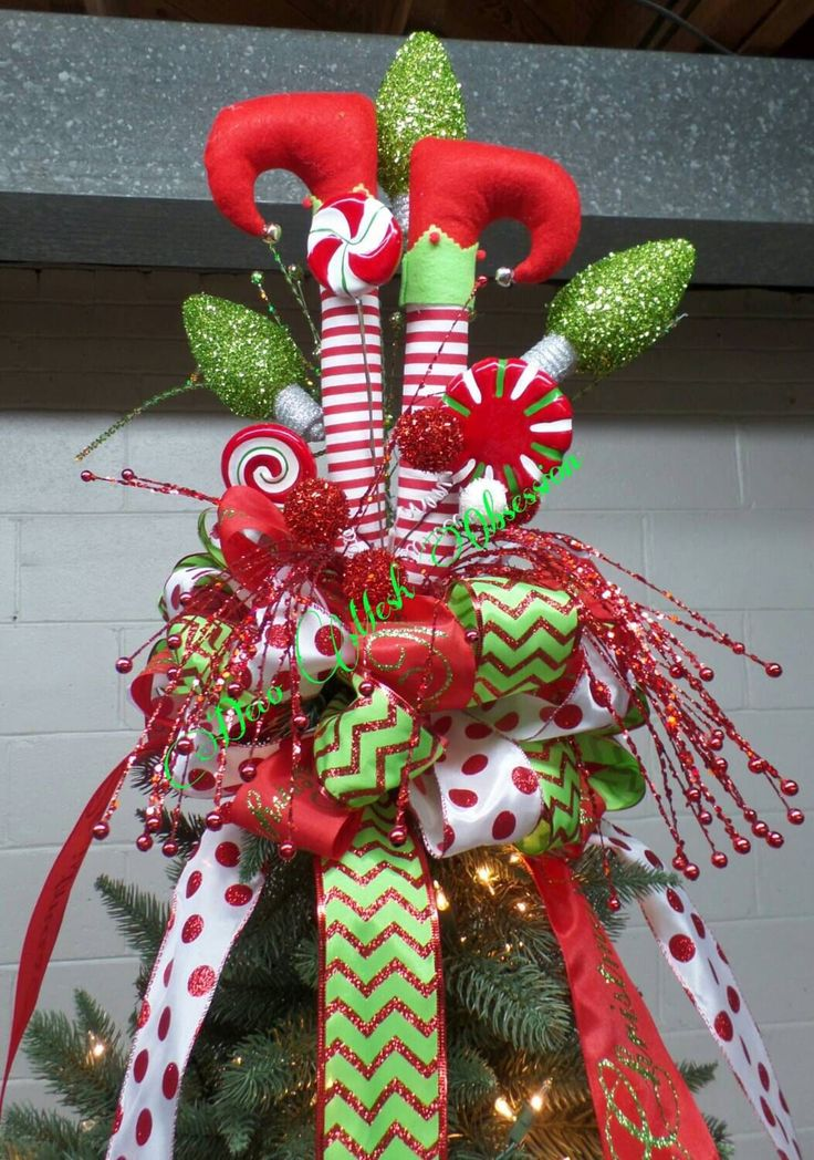 1000 Ideas About Peppermint Christmas Decorations On Pinterest Candy Cane Decorations Xmas