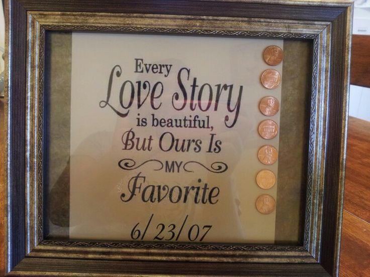 7th wedding anniversary gift idea for copper my dream