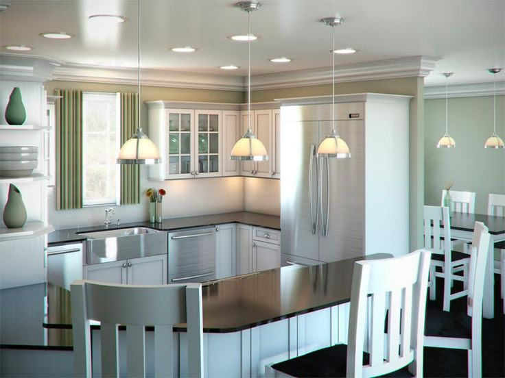 The G Shaped Kitchen Layout Is Basically A Pumped Up Model