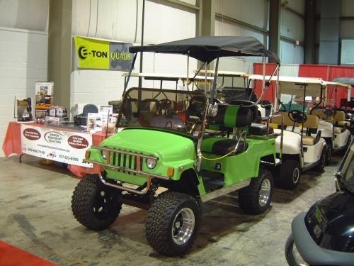 2005 E Z Go Custom Jeep Street Legal Golf Cart For The