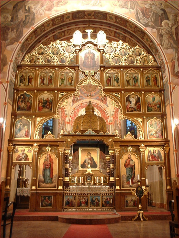 Sanctuary of Saint Michael Greek Catholic Church in