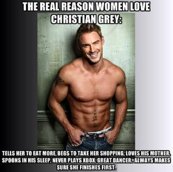 The real reason why women love Christian Grey!