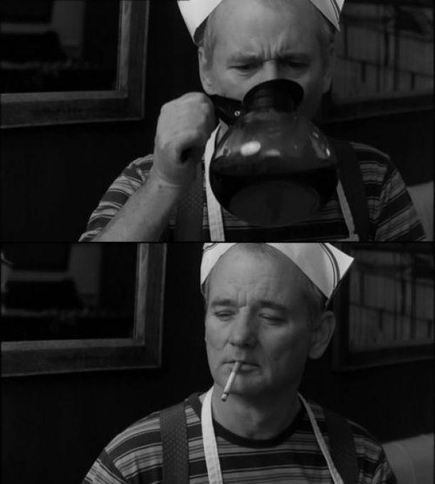 Resultado de imagen para cigarette and coffee man