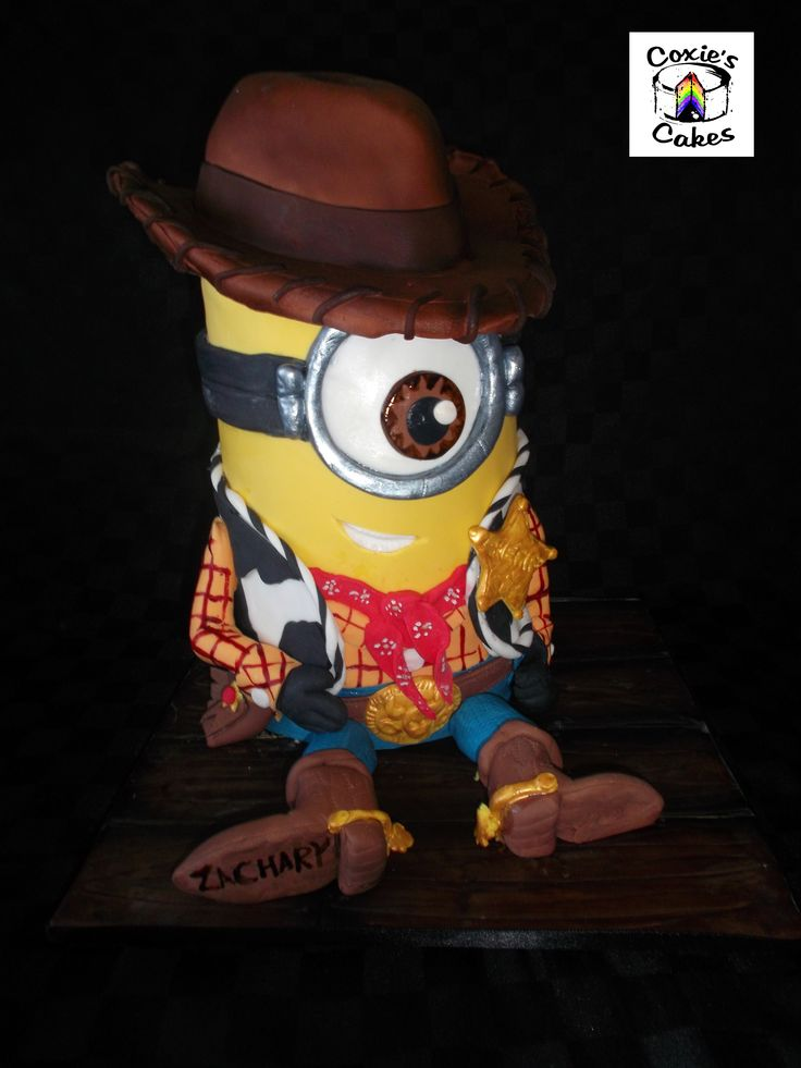 Toy Story Woody And Minions On Pinterest