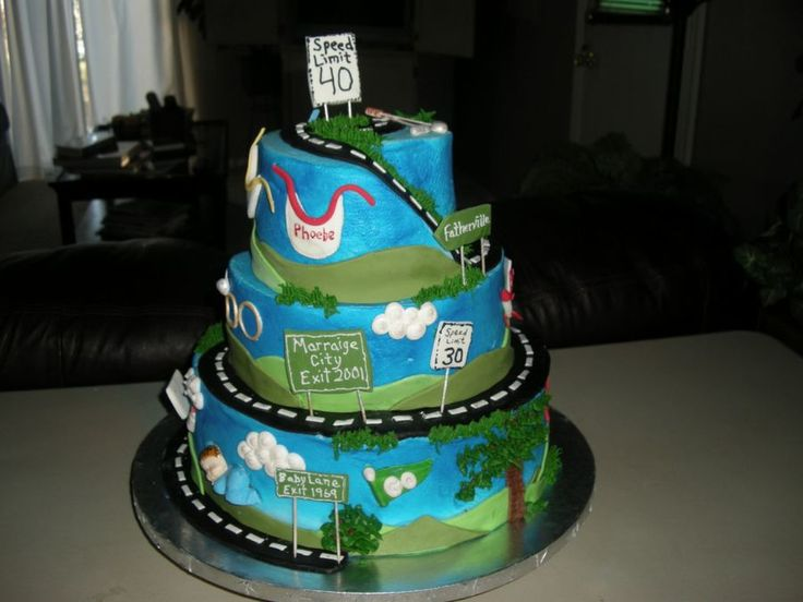 1000 Images About Cakes Over The Hill On Pinterest