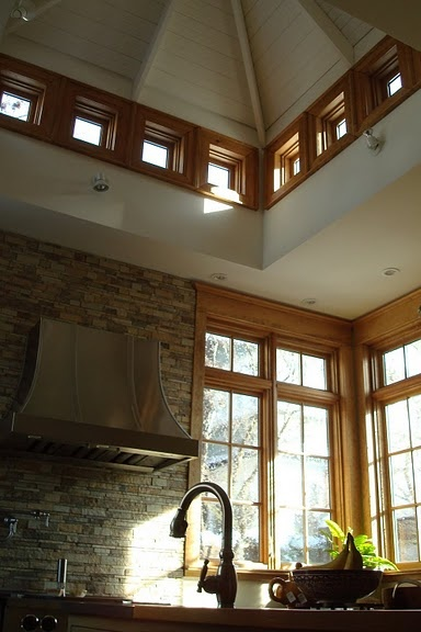 How To Have A Hood Vent Over The Stove With A Vaulted Ceiling Kitchen My Future Home