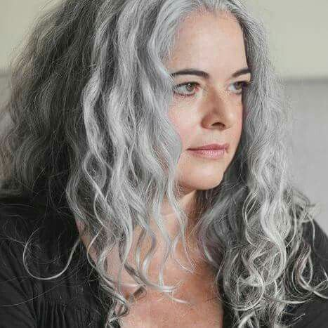 yasmina rossi on pinterest aging gracefully gray hair and silver dark brown hairs
