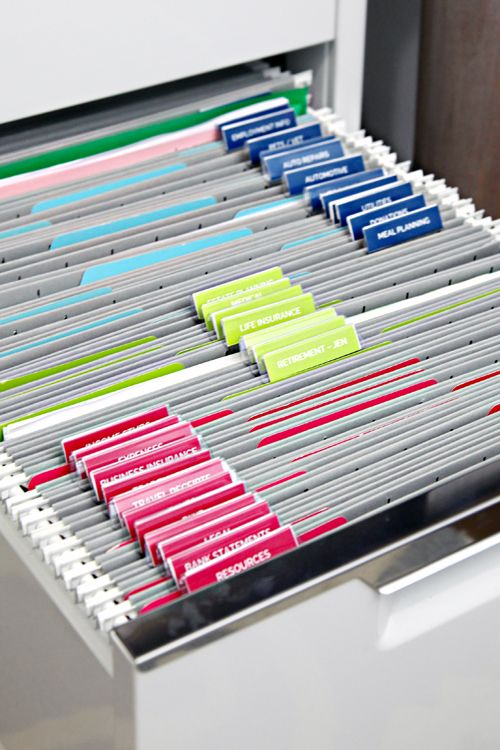 DIY Ify 10 Organizing Printables For The New Year Hanging File Folders Cabinets And File Folder