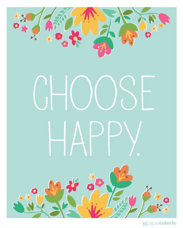 choose happy.: