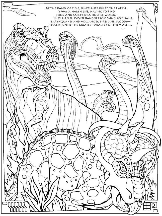 MONSTER MASHUPDinosaurs Face Destruction Dover